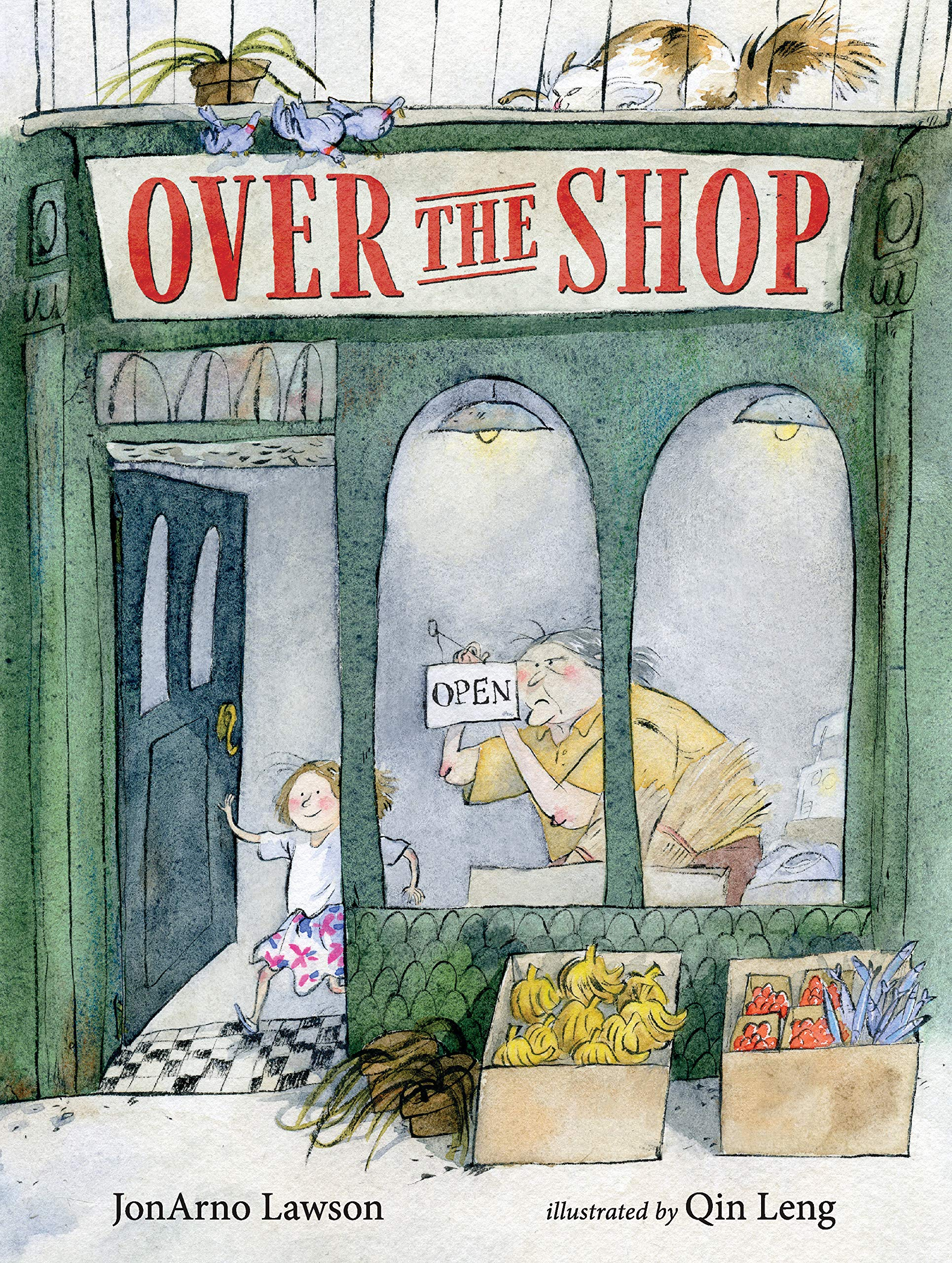 Over the Shop: Lawson, Jonarno, Leng, Qin: 9781536201475: Amazon.com: Books
