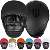 Punching Mitts Kickboxing Muay Thai MMA Boxing Mitts Training Focus Punch Mitts Bags Hand Target Pads for Kids, Men…