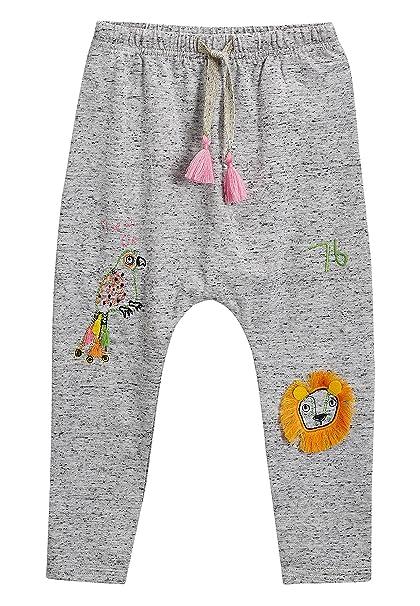 next Niñas Pantalones De Chándal (3 Meses - 6 Años) Gris 5-6 años ...