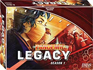 Pandemic Legacy: Season 1 Red Board Game