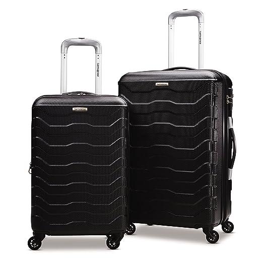 Samsonite Tread Lite Lightweight Hardside Set (20/24 - Inches), Black ( 79379-1041 )