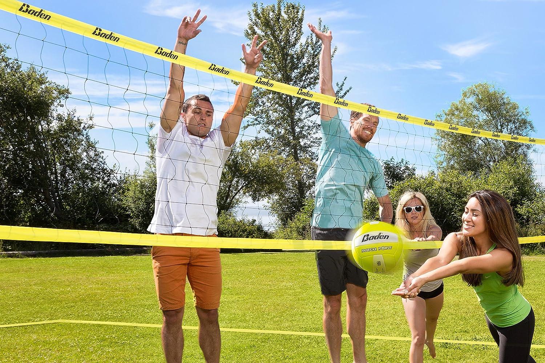 amazon com baden champions series volleyball set volleyball