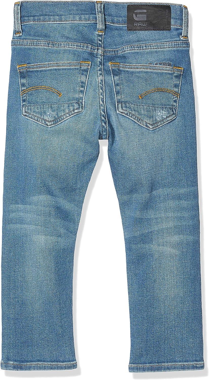 G-Star Homme Jeans D-staq 5 poches fuselé Fit-Bleu-Medium Aged
