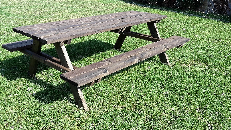 picknicktisch bierbank 200 cm picknickbank bank tisch palisnader top online bestellen. Black Bedroom Furniture Sets. Home Design Ideas
