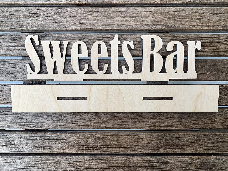 Dessert Table Cake Table Sign Wedding Sign Desserts Sweets Bar Sign Sweets Table Candy Bar Candy Buffet Rustic Wedding Decor