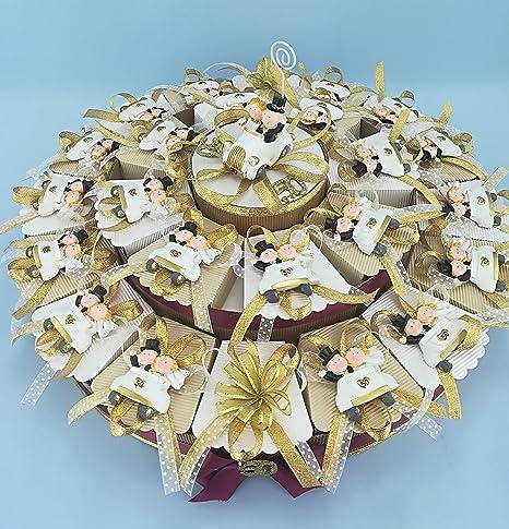 Bomboniere Nozze Oro Torta Da 22 Bomboniere Per Anniversario 50 Anni