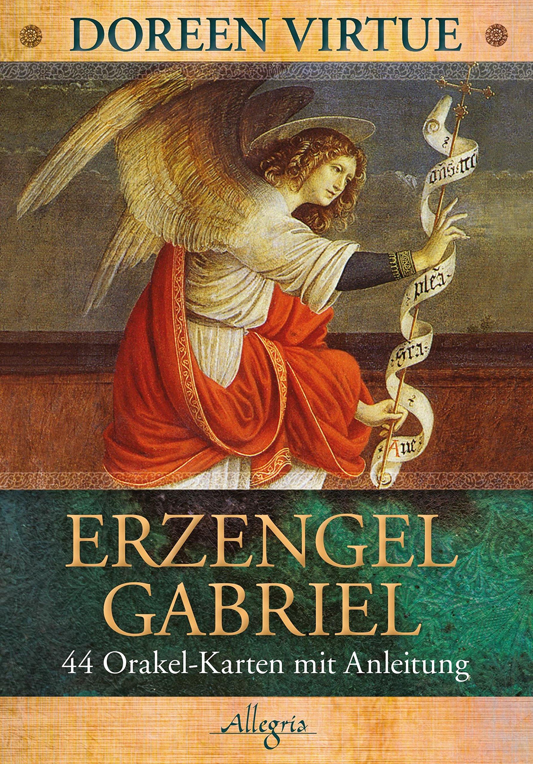 Erzengel Gabriel: 44 Orakel-Karten mit Anleitung