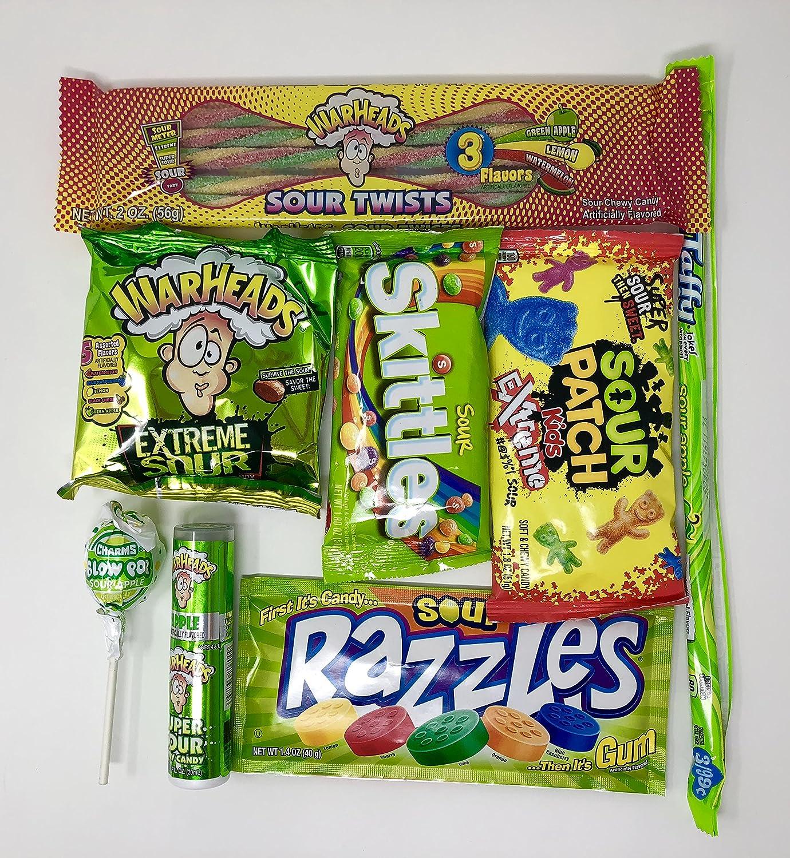 Caja de bombones dulces amargos americanos | Súper Sour US Sweet ...