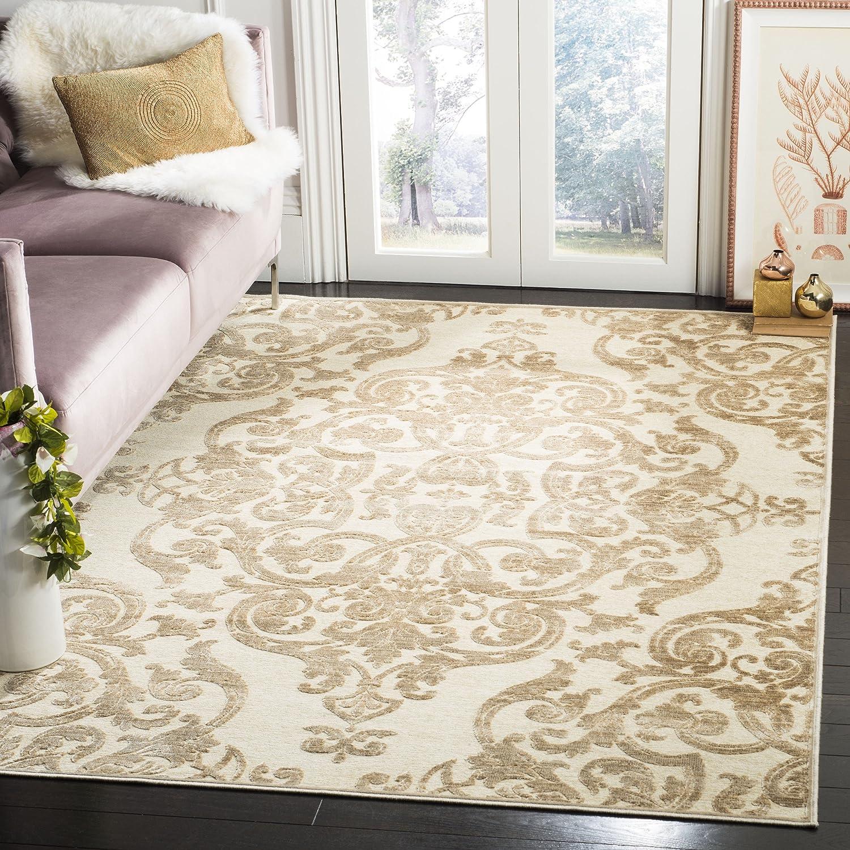 Safavieh Marigot gewebter Teppich, PAR348-3440, Stein, 160 X 228  cm