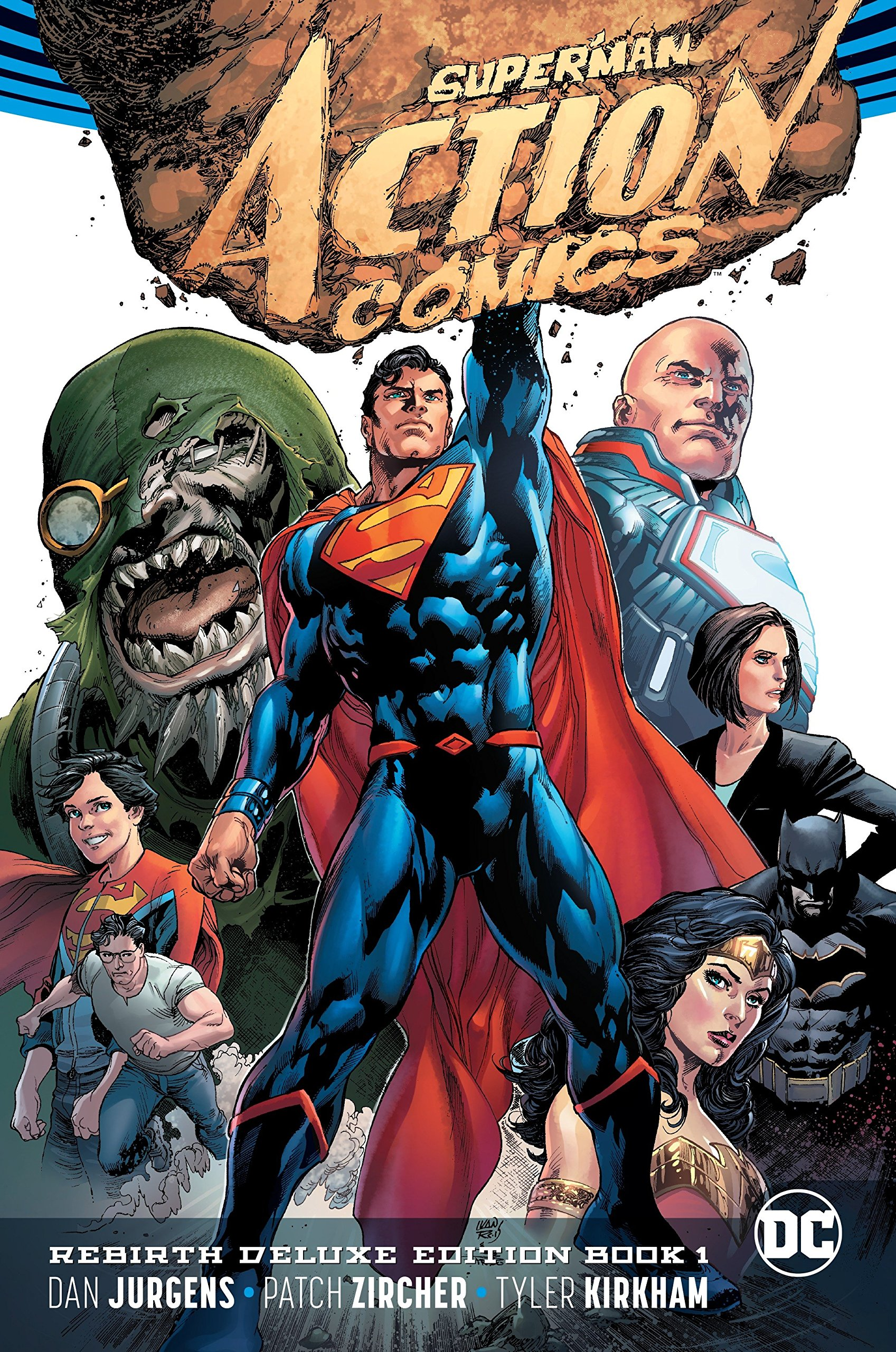 Superman Actionics The Rebirth Deluxe Edition Book  Rebirth Hardcover July