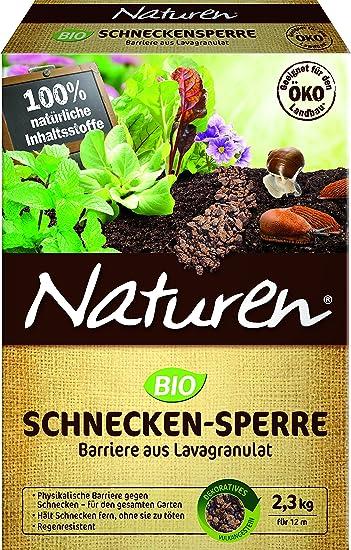 Naturen Bio Schnecken Sperre, Regenbeständige Barriere Aus Speziellem  Lavagranulat Zur Abwehr Von Schnecken Im