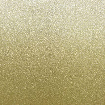 Best creation 12 inch by 12 inch glitter cardstock bright gold 15