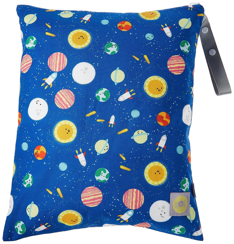 Itzy Ritzy IR-WBL8306 Travel Happens Large Sealed Wet Bag, Interstellar