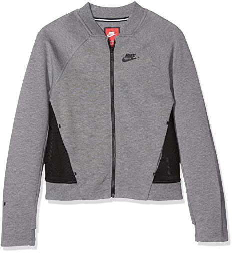 Giacca Grigionero Fleece Nike Tech Bomber Bambina Trainingsjacke q76qIw5Y