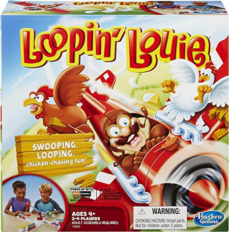 Interactive Family Board Game for Kids Ages 4 and Up Loopin Louie