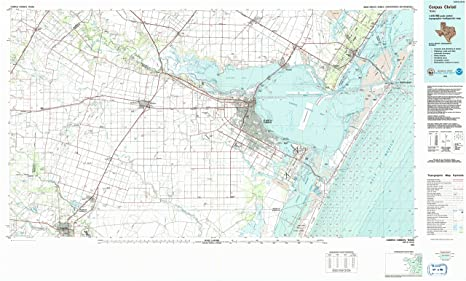 Amazon.com : YellowMaps Corpus Christi TX topo map, 1:100000 Scale on map of bayou vista texas, map of camp wood texas, map of llano river texas, map of fair oaks ranch texas, map of davis texas, map of southwest austin texas, map of edcouch texas, map of combes texas, map of natalia texas, map of cedar bayou texas, map of calvert texas, map of channing texas, map of bremond texas, map of ft. bliss texas, map of winona texas, map of fremont texas, map of south texas, map of christoval texas, map of stinnett texas, map of garland texas,
