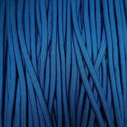 Caribbean Blue 100 Feet 425 Paracord Rope 3 strand Cord