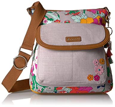62cb5eb07494 Sakroots Artist Circle Flap Cross-Body Bag  Handbags  Amazon.com