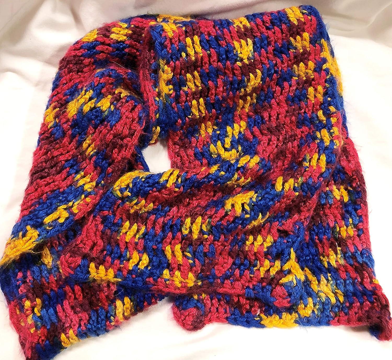 Crochet Scarf Medium Weight Yarn