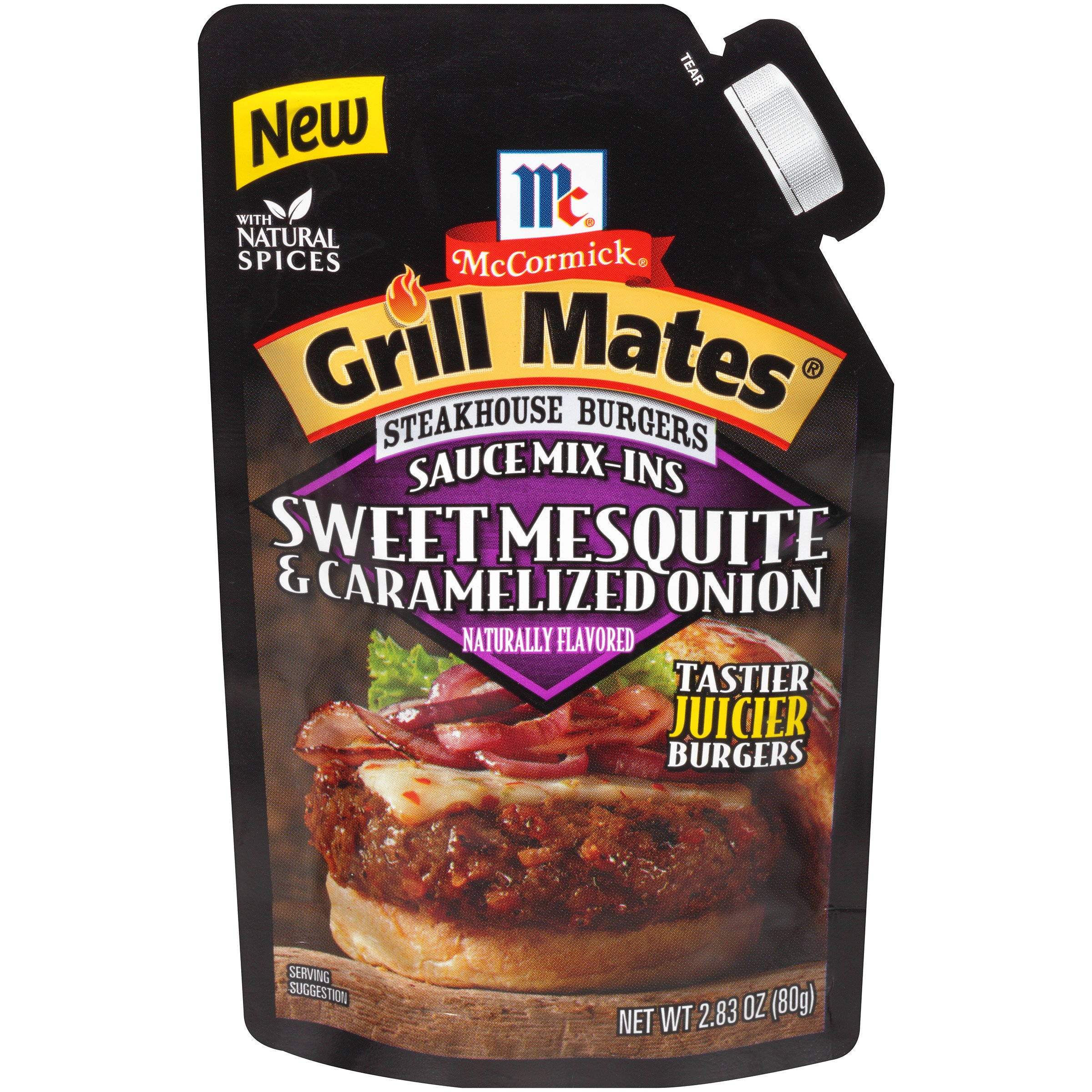 McCormick Grill Mates Sweet Mesquite & Caramelized Onions, 2.83 oz (Pack of ...