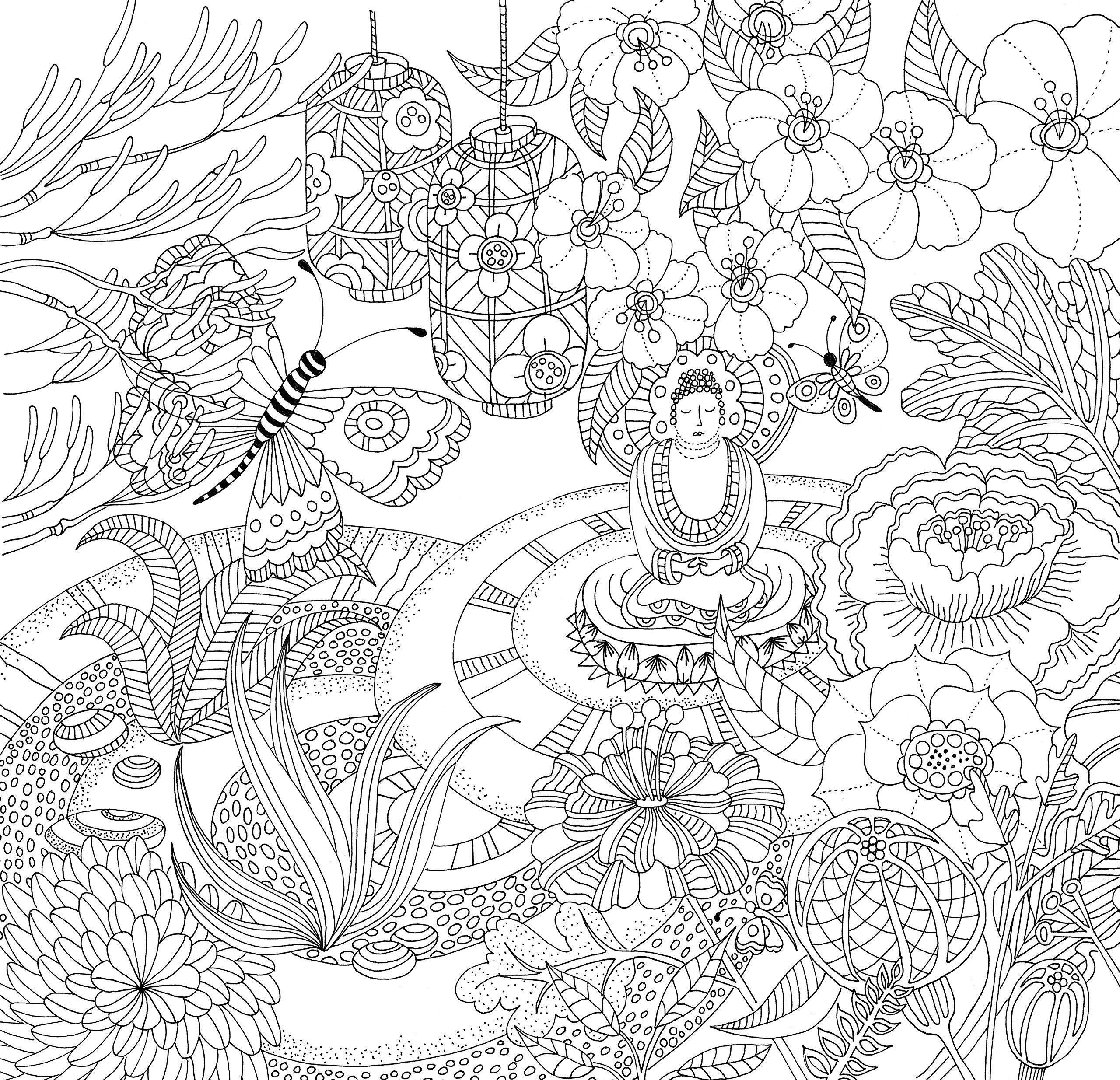 Zen Garden Adult Coloring Book (31 stress-relieving designs ... on pergola design, okinawa design, zen small backyard ideas, zen gardens in japan, loft design, zen gardens landscaping, landscape design, zen flowers, zen space, zen gardening, zen art, zen symbols, mail kiosk design, pool design, zen doodle designs instruction, zen paint colors, patio design,
