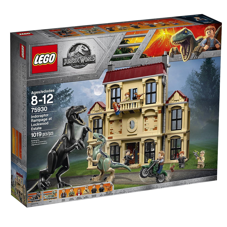 Lockwood Indorraptor Del Lego En Caos Mansión La Jurassic World ALR345j