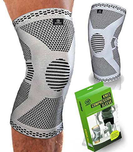f885672054 Knee support for ligament injury, compression knee sleeve. Knee Brace for  meniscus Tear.