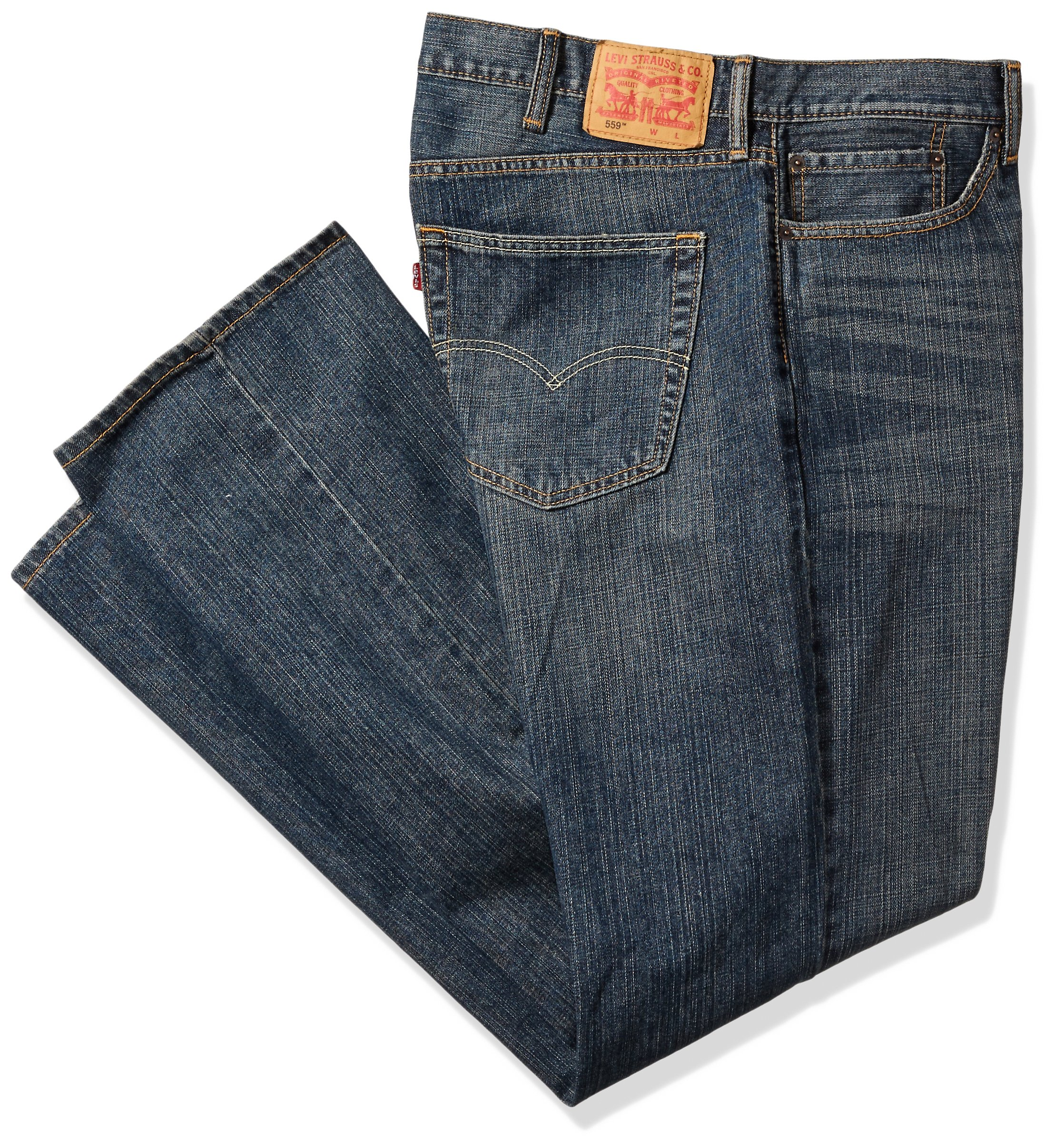 Levi's Men's 559 Relaxed Straight Jean - Big & Tall, Range, 46x30