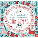 amazon com christmas cards for coloring by adults and children 12
