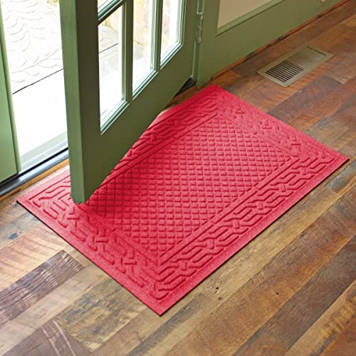 AquaShield 20505650023 Acropolis Mat, 2 x 3 , Solid Red