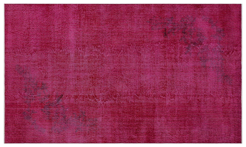 Bespoky ビンテージ 手織 ラグ ピンク ミディアムサイズ 151 X 262 Cm   B07HNGTLDY
