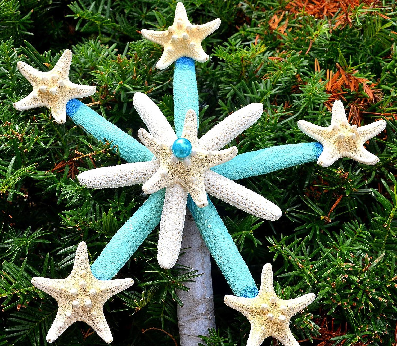 Beach Tree Topper Christmas tree,Christmas Tree//Beach Christmas Tree,Christmas Tree Topper//Tree Top,Coastal Tree Topper Starfish Tree Topper,Beach Christmas,Tree Topper,Nautical Tree Topper