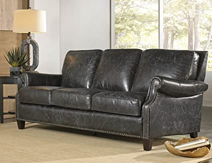 Charmant Lazzaro Leather WH 1441 30 9035 Nathan Sofa