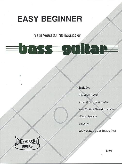 amazon com easy beginner electric bass guitar instructional book rh amazon com Basic Flute Finger Chart Flute Finger Positions