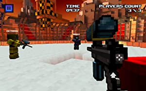 EXTREME WARRIOR SPLEEF - Mini Block Survival 3D Shooter Game from Sandbox Studio