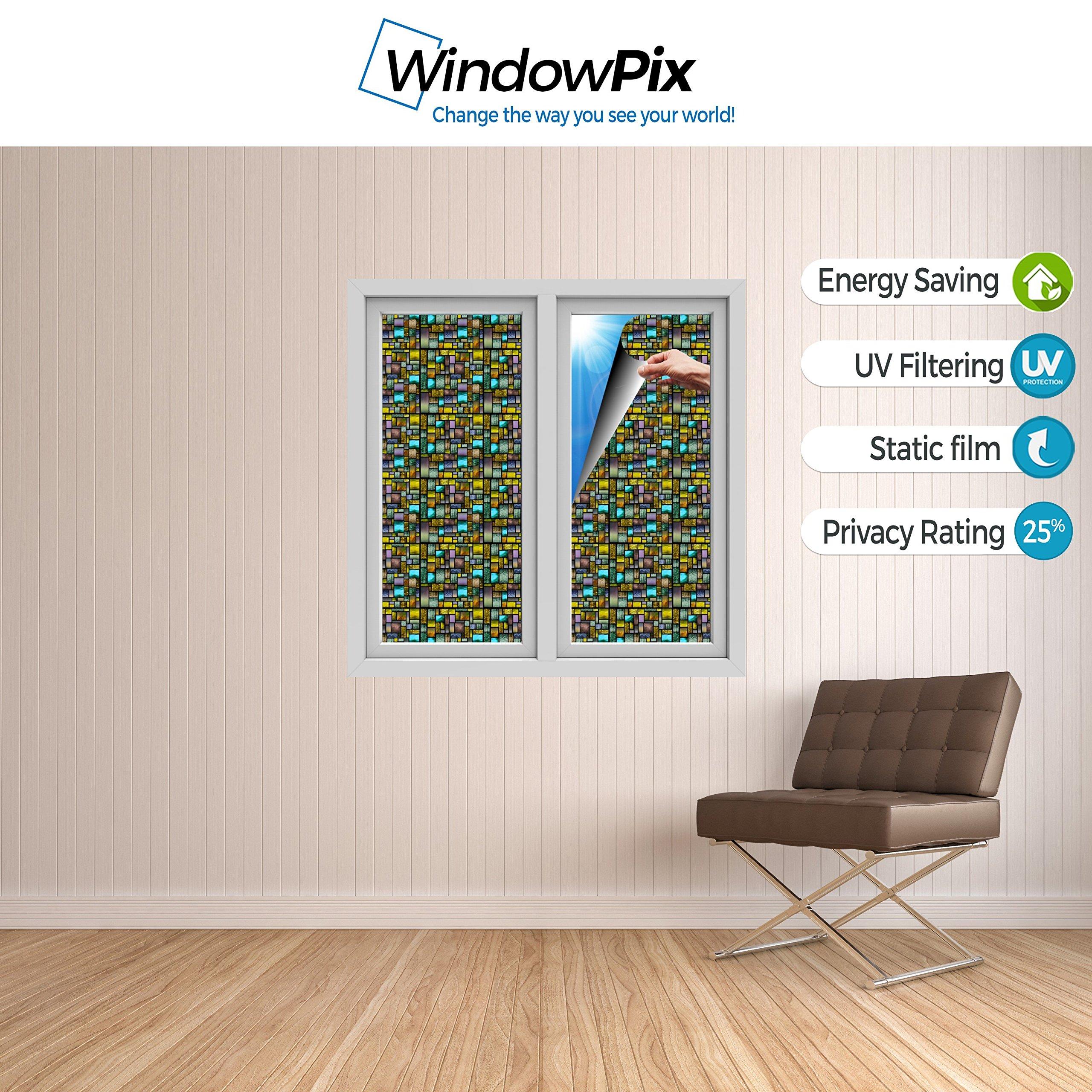Windowpix WF108-24x96 24x96 Decorative Static Cling Window Film by Windowpix (Image #4)