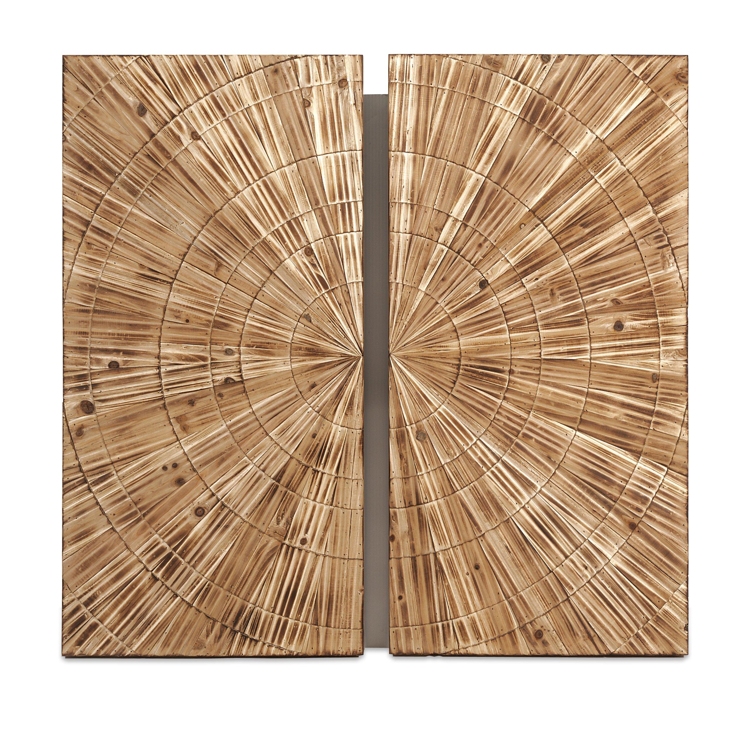 IMAX 74298 Boyd Carved Wood Wall Decor