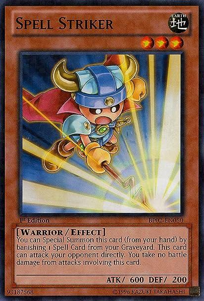 Amazon com: Yu-Gi-Oh! - Spell Striker (BP02-EN050) - Battle