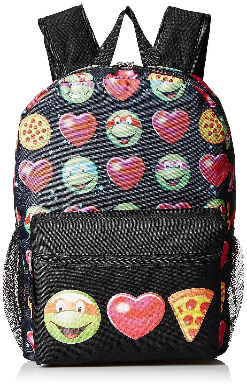 hot sale Teenage Mutant Ninja Turtles Girls Emoji 17 Inch Backpack, Various, Large Size