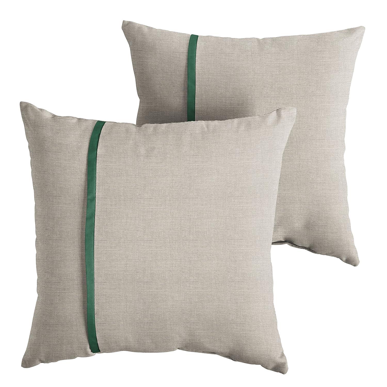 Amazon Com Mozaic Amps112157 Sunbrella Outdoor Pillow 20 Cast