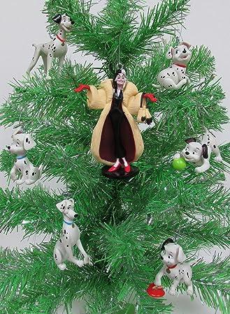 Disney 101 Dalmatians Christmas Tree Ornament Set Featuring Cruella De Vil,  Pongo, Perdita, - Amazon.com: Disney 101 Dalmatians Christmas Tree Ornament Set