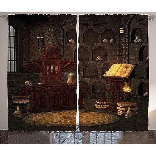 Gothic Curtains Amazon Com