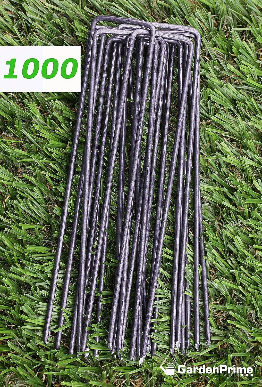 GardenPrime 1000 Grapas Metálicas alambre de acero 150mm para ...