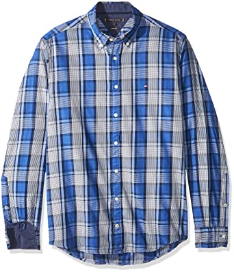 Tommy Hilfiger Herren Hemd Midscale Heathered Regular Fit