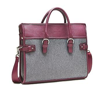 Amazon.com: Laptop Bag Women Handbag Briefcase - Business Travel ...