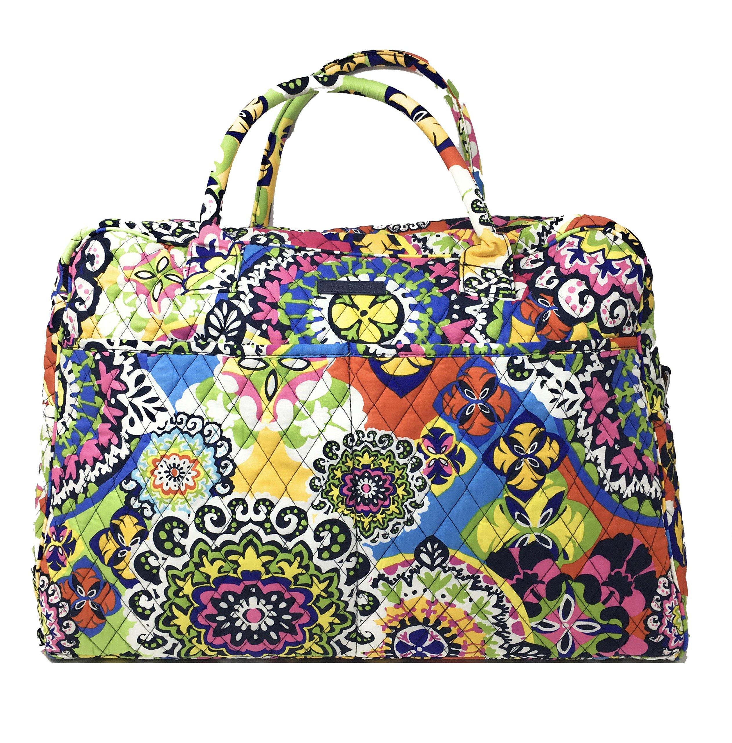 Vera Bradley Weekender Travel Bag (Rio with Navy Interior)