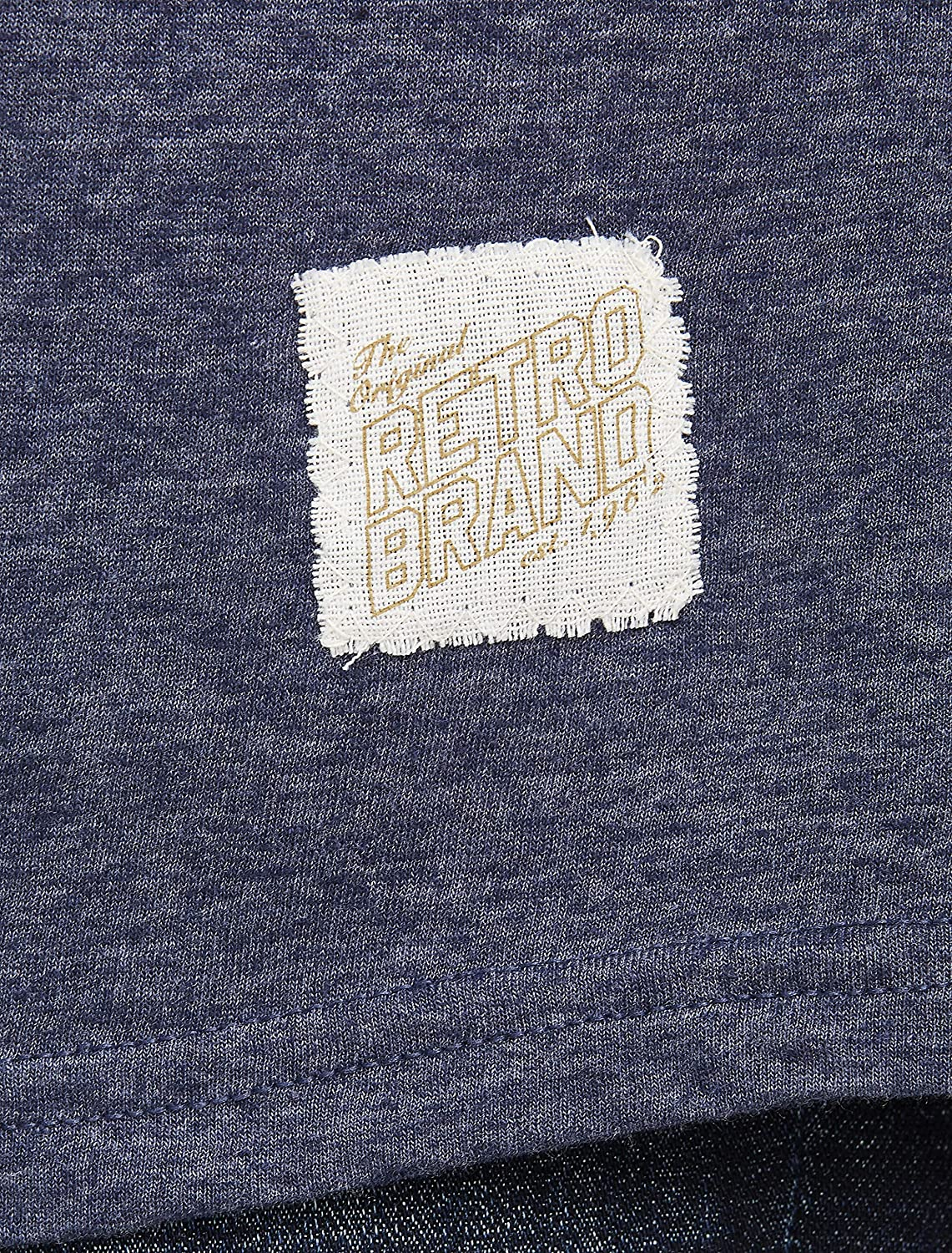 Retro Brand Big and Tall Pabst Blue Ribbon Graphic Tee