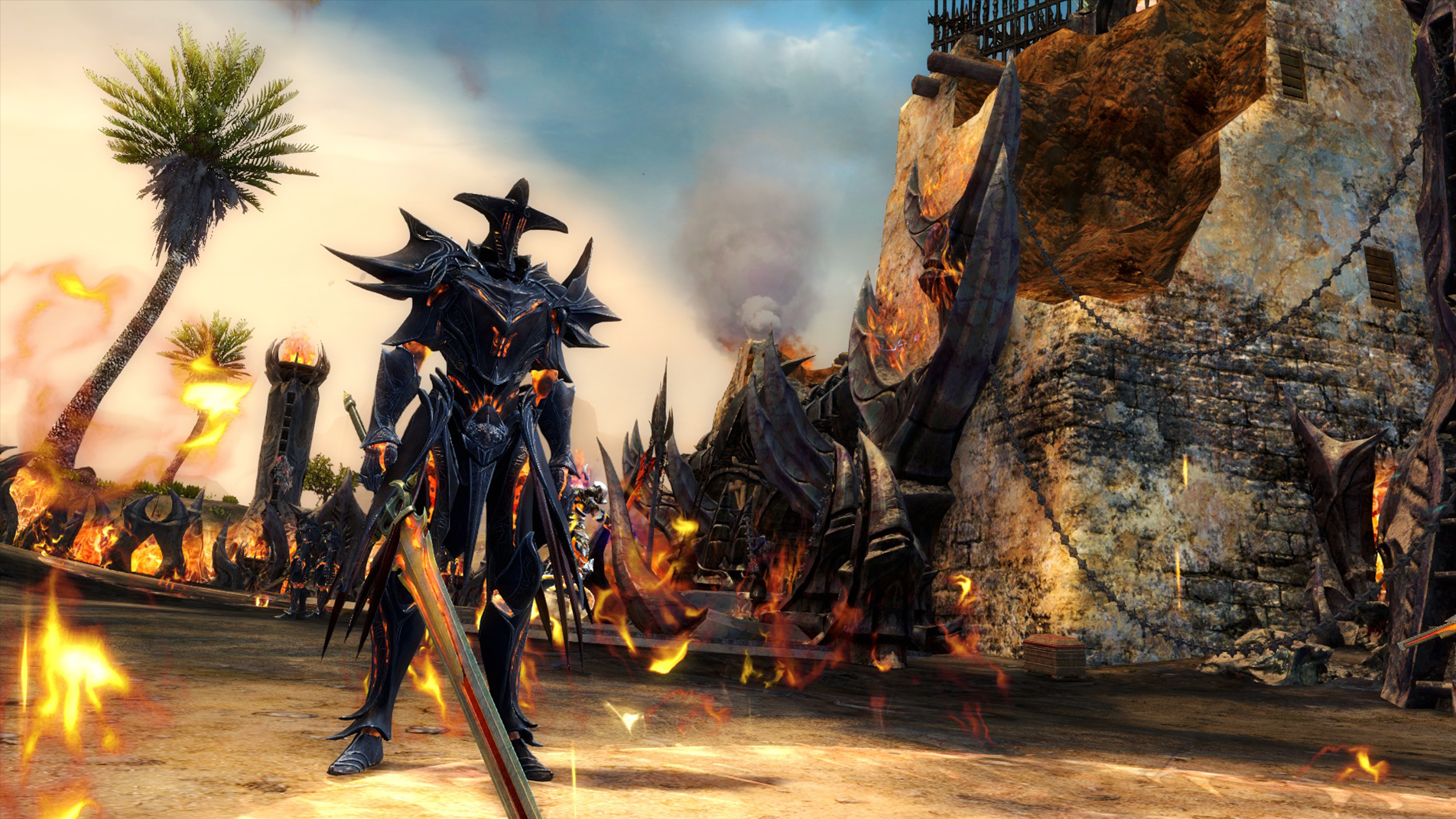Amazon com: Guild Wars 2: The Path of Fire [Online Game Code]: Video