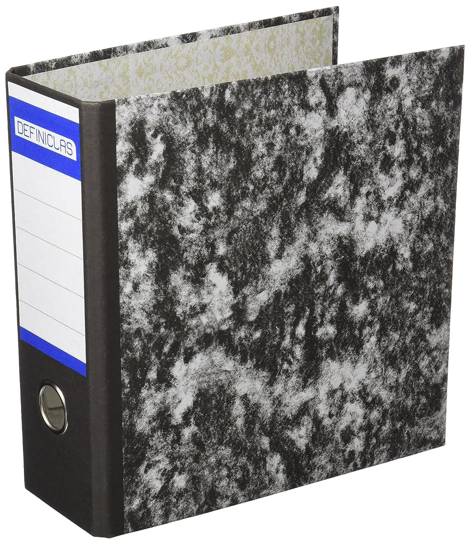 Definiclas 946607 - Archivador jaspeado, 75 mm: Amazon.es: Oficina y papelería