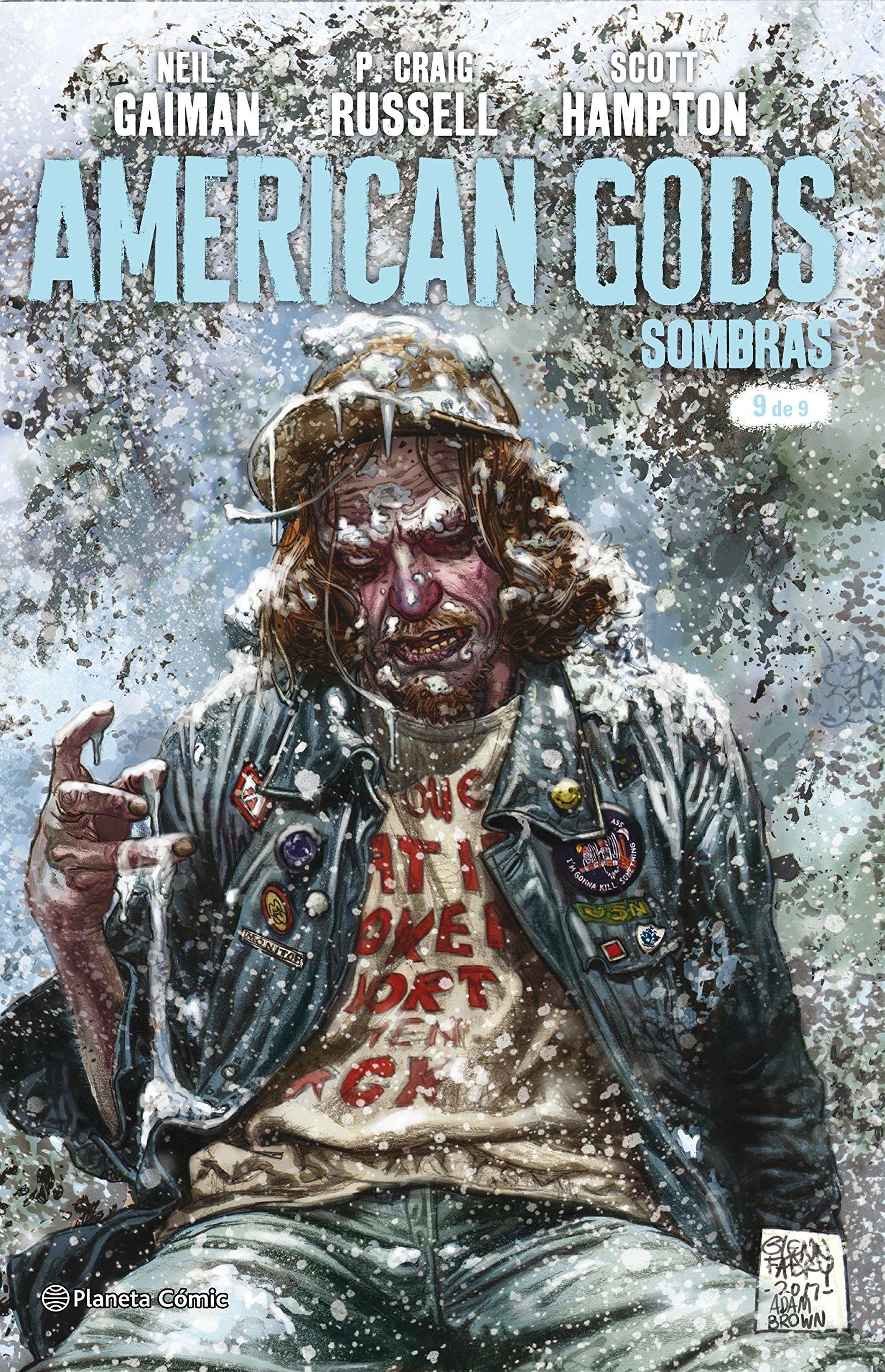 American Gods Sombras nº 09/09 (Independientes USA) Tapa blanda – 2 oct 2018 NEil Gaiman Philip Craig Russell Scott Hampton Diego de los Santos